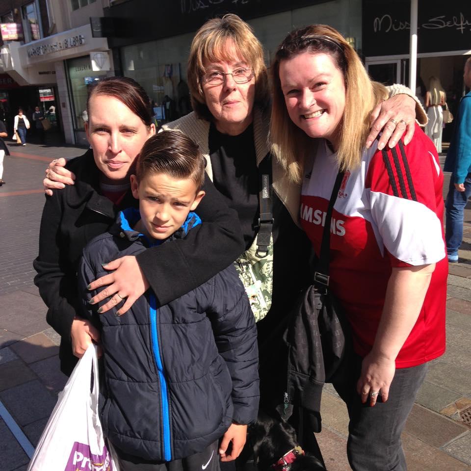 Clare,Hanny, Sarah & Son